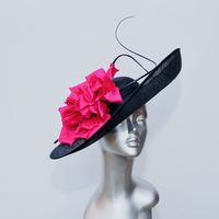 Statement Hatinator in stand-out dark navy & magenta 16153/SD230